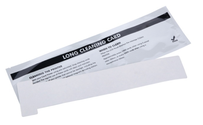 Compatible Evolis ACL004 Long T Card Cleaning Kit
